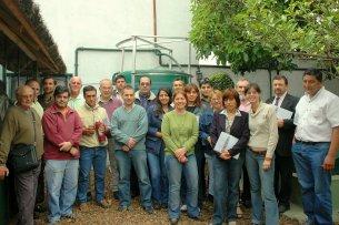 Los cursos de biodigestión se desarrollan periódicamente en la ciudad de Santa Fe y convocan a personas de distintos lugares de Argentina y otros países Latinoamericanos